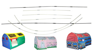 Bed Tent Replacement Poles  sc 1 st  Bazoongi™ Kids! & Bazoongi™ Kids! - Replacement Parts